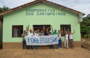 Artesanal miners against Belo Sun. / M. Irigaray