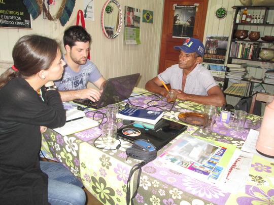 AIDA interviews a man displaced by Belo Monte.
