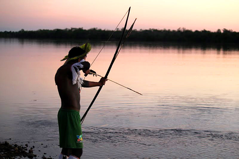 Photos from empower indigenous brazilians to save their for Amazon fishing net