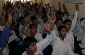 A Scholarship for One Afghan Boy to go to School