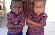 A year of nutritious food for Bodlyson and Kenson