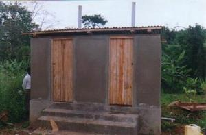 final ecosan latrine completed at Buyijja village