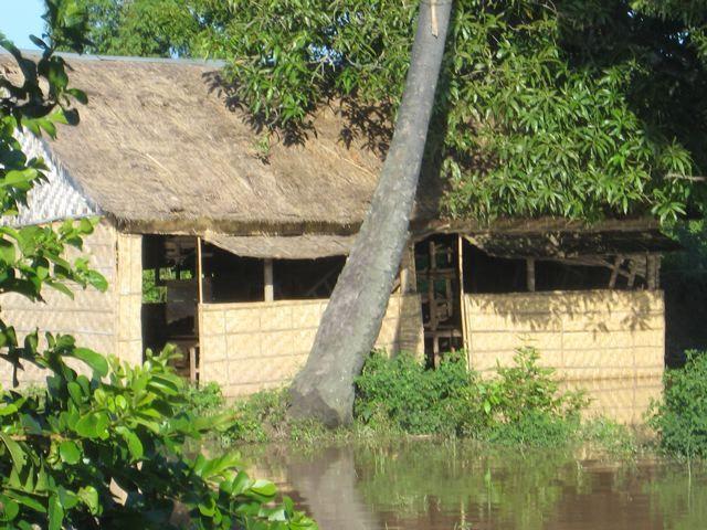 Flooded Khmer Literacy School, fall 2007