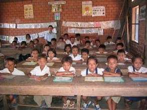 Children in TSF's English Language Program.