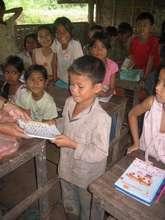 Mon Channy, student at TSF's Khmer Literacy School