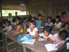 Iniside a Khmer Literacy Class