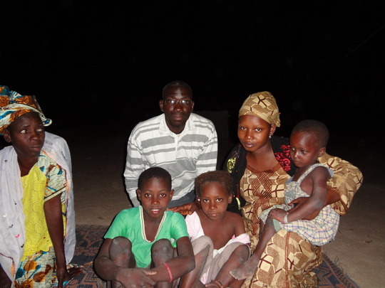 visit to fatoumata's family