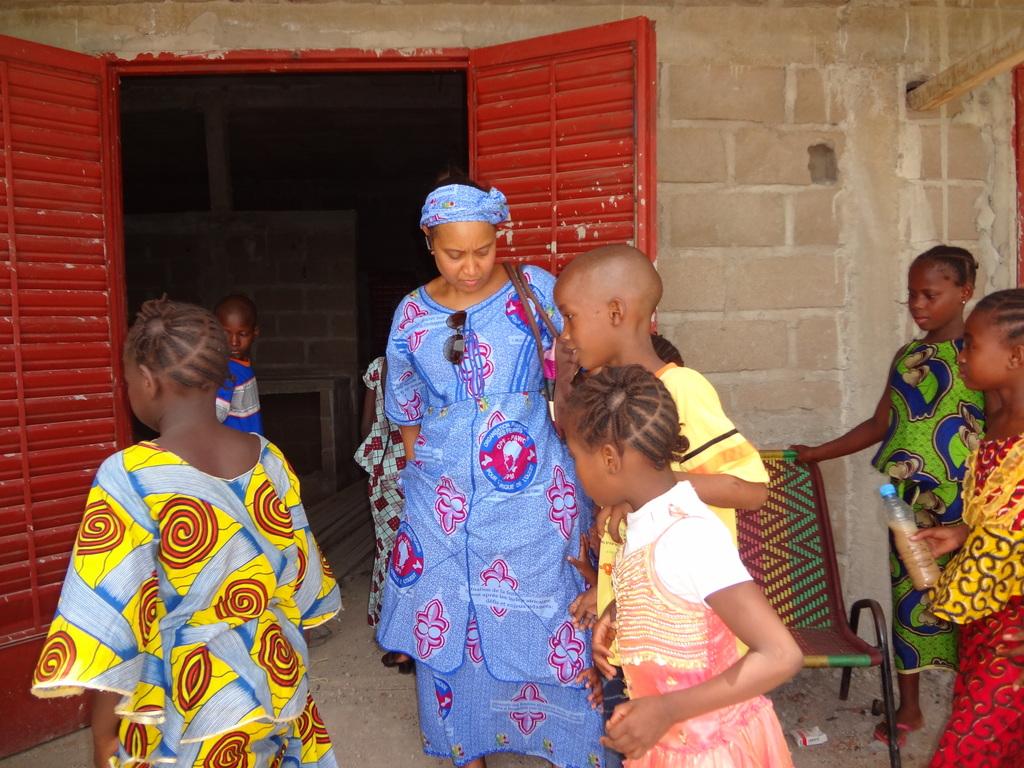 Zorokoro visit with Fatoumata