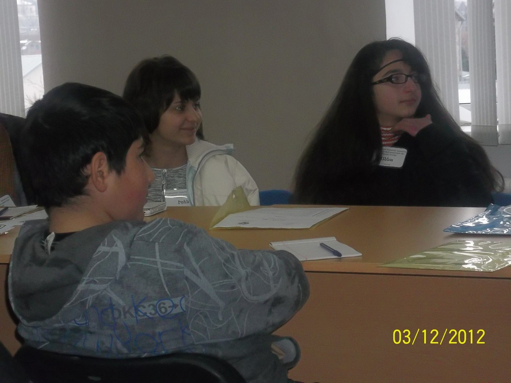 Our beneficiaries during the training