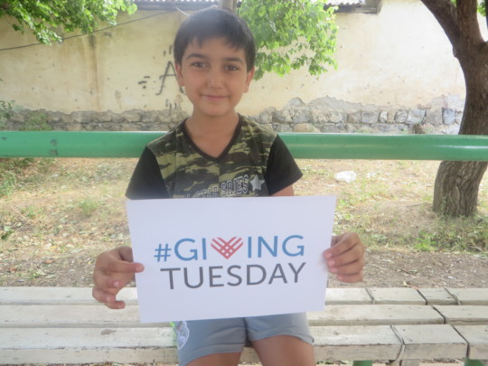 Arthur's message about #GivingTuesday
