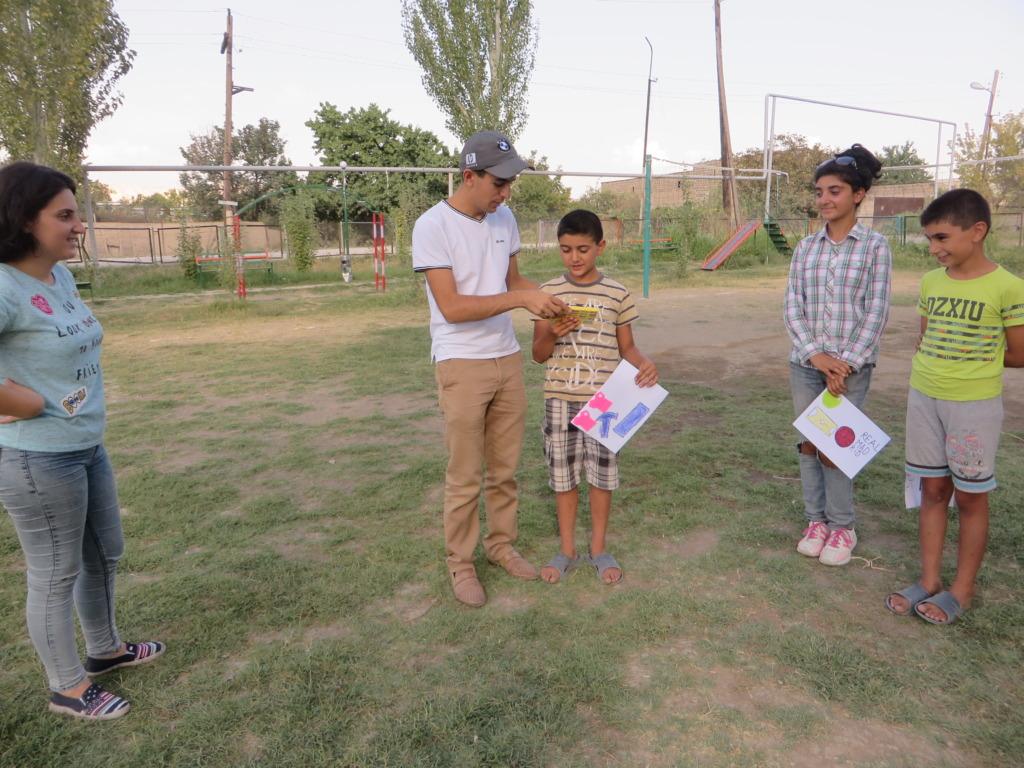Individual work with children