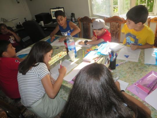 The beneficiaries present Armenia