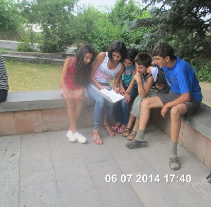 Providing education for 150 children in Armenia.