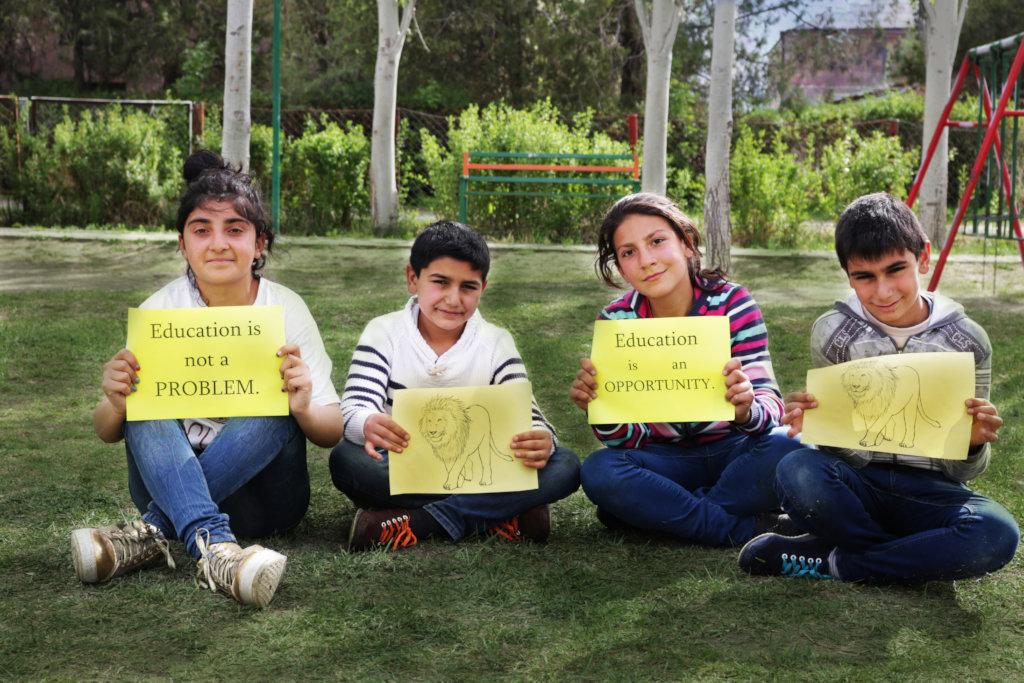 Providing education for 150 children in Armenia