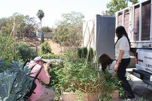 LA Conservation Corps East LA Gardens