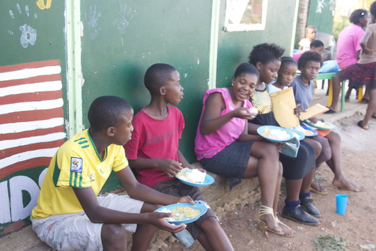 Feeding Program in Action
