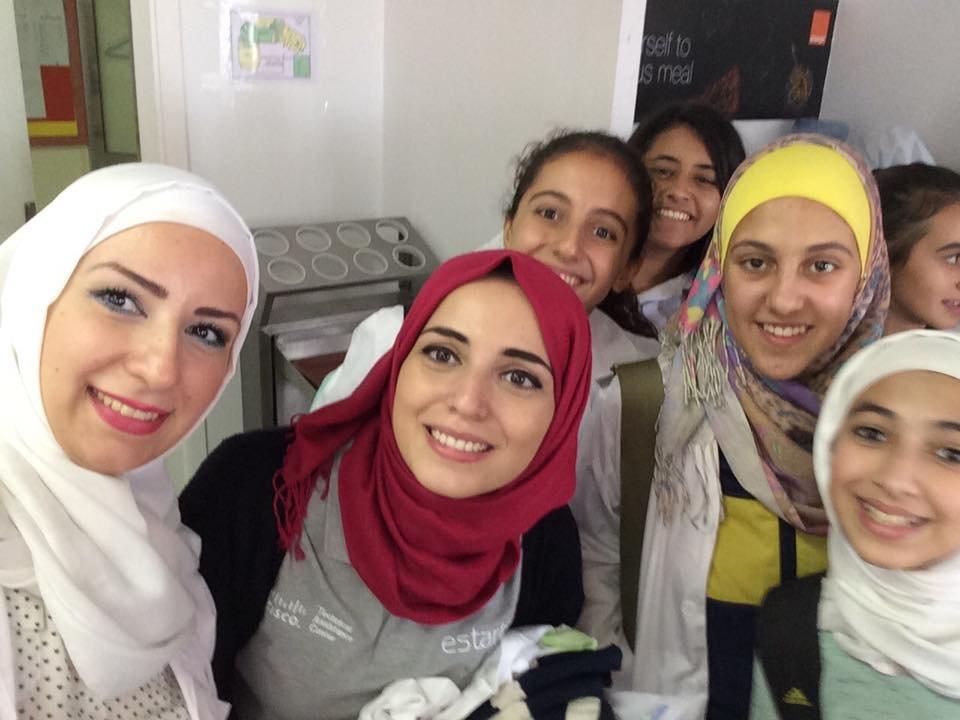 greenlight volunteers get ready to inspire inAmman