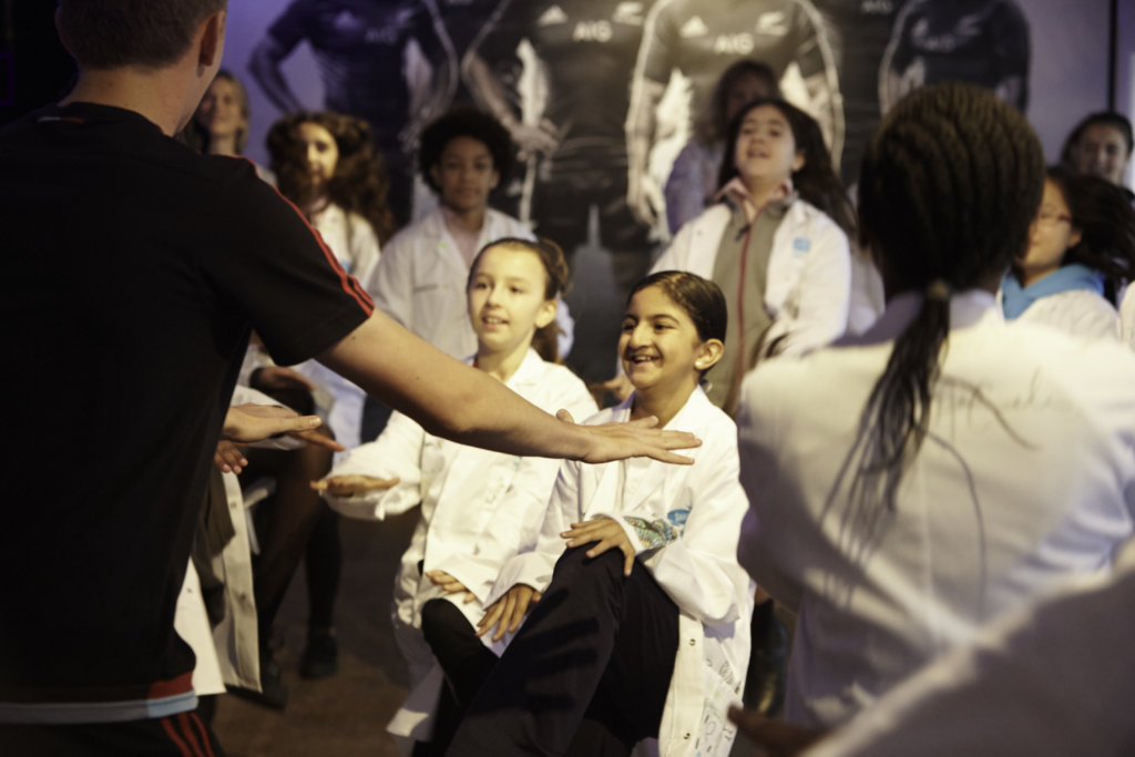 greenlight girls in London learn sports & physics