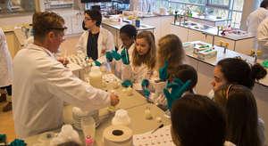 Having fun in the lab