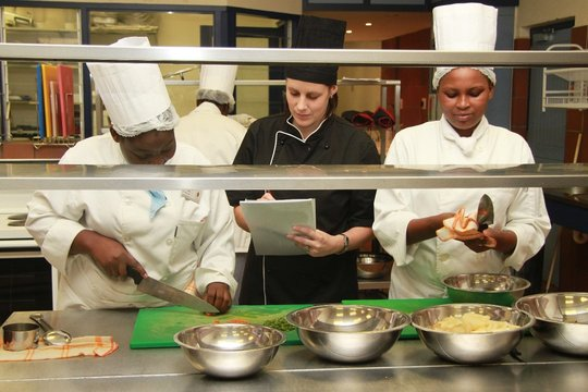 Culinary training at SACT