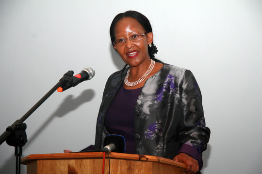 Deputy-Minister of Tourism, Ms Xasa