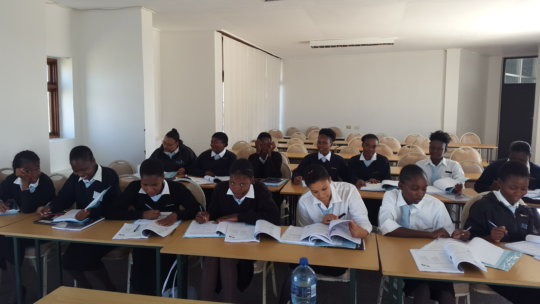 Some of the class of 2016 during a lecture