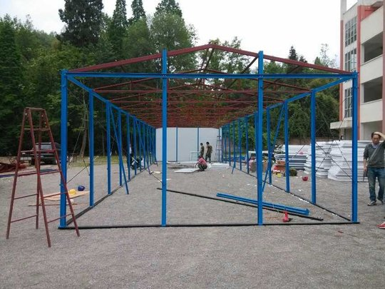 earthquake relief hope classroom building