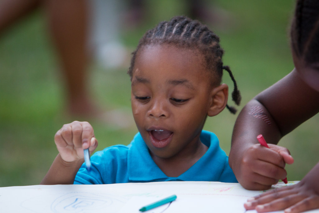 Art time at day camp