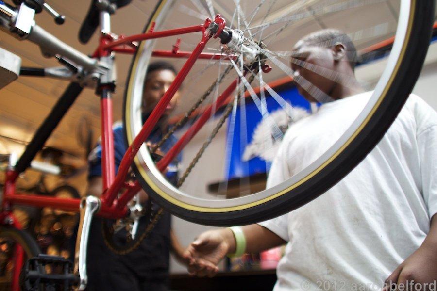 Earn-a-Bike Participant