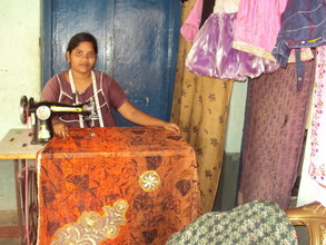 Sewing gives women sustainable incomes