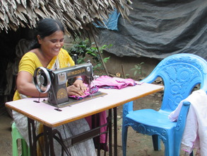 A sewing machine changes a life