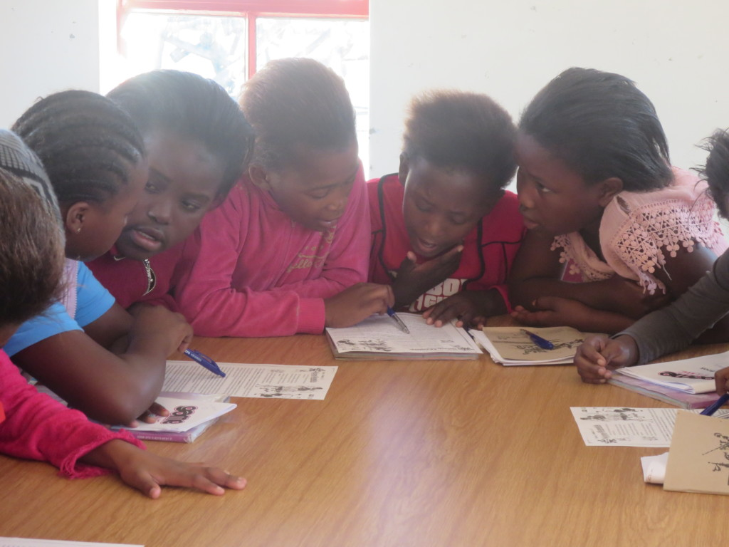 Boxgirls learning as a team