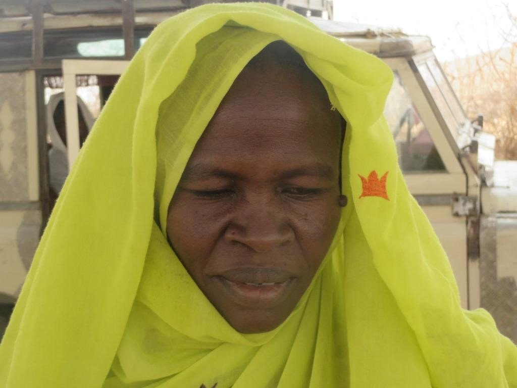 Alawya, goat beneficiary has 14 goats in her flock