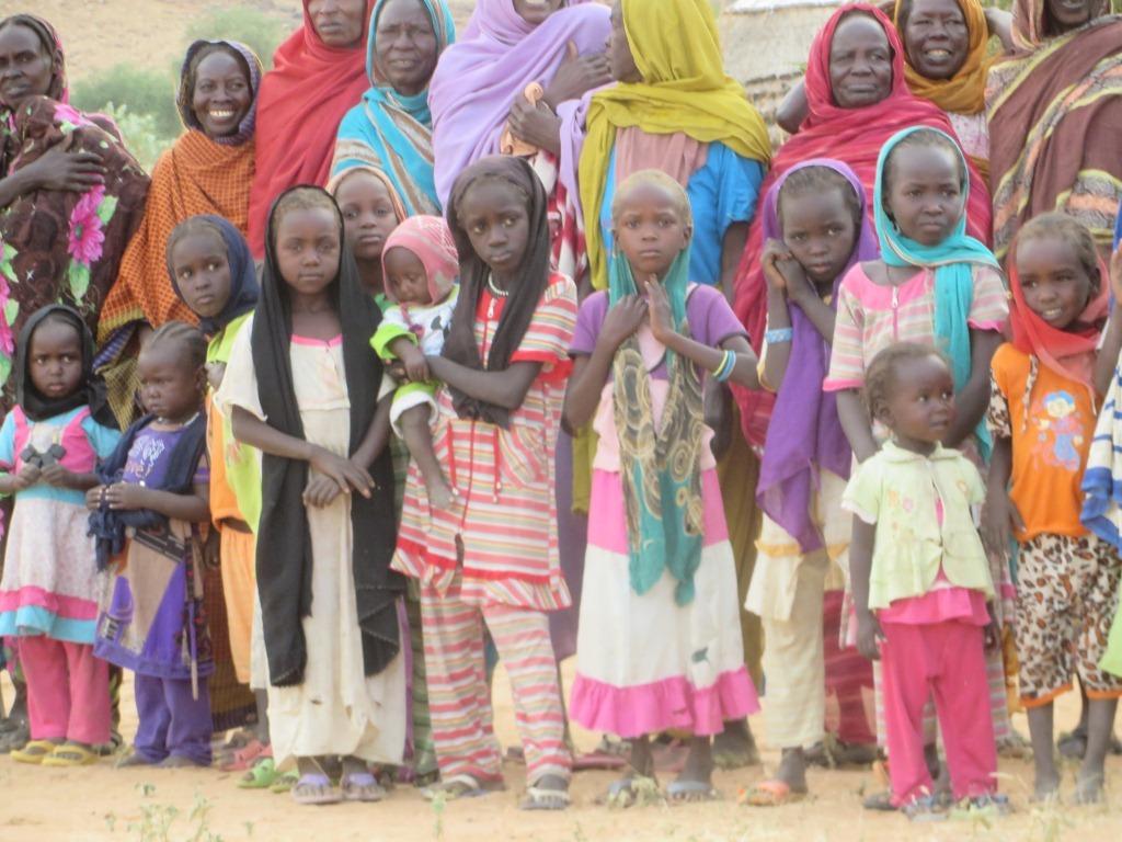 Children in Darfur are world