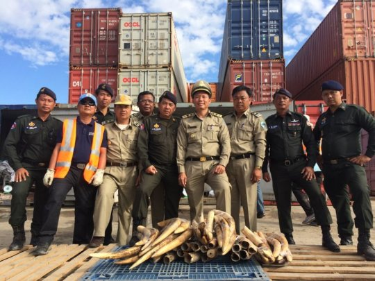 WRRT assisted Cambodian Customs officials