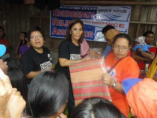 CDRC distributing relief packages