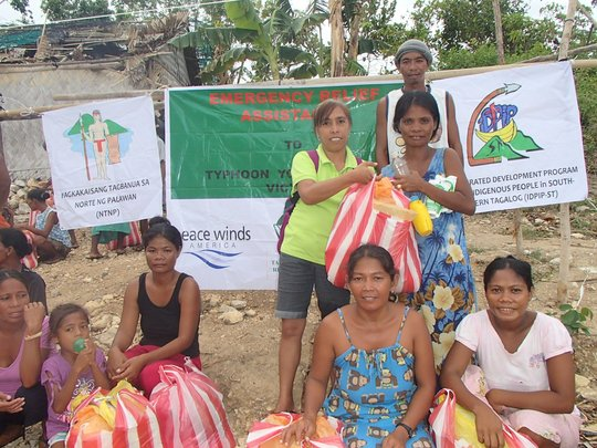 Relief Distribution on Busuanga