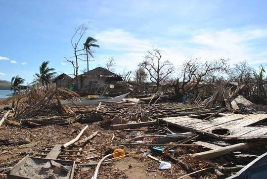 Destruction in Busuanga (CDRC)