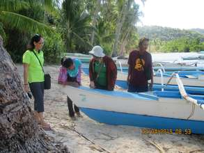 AFTER: A fishing boat repaired by PWA