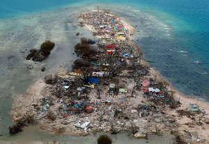 Devastation in Leyte