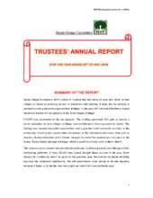 The Trustees Annual Report (PDF)