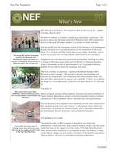 NEF-Morocco Attends To Participation And Creativity Of All (PDF)