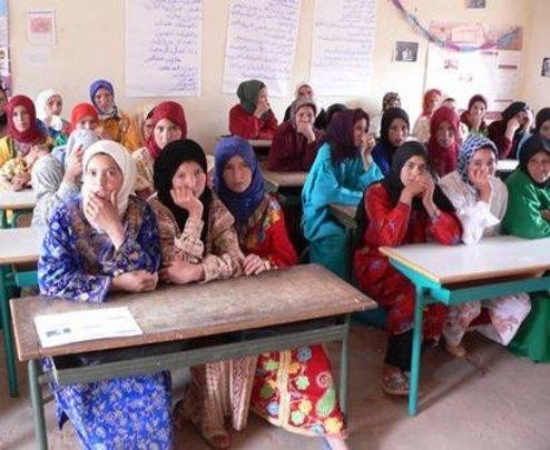Women--the Majority of Adults in School