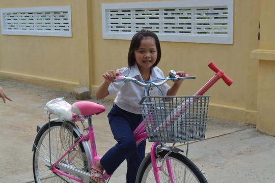 New bike joy