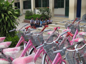 Giving Pink Bikes