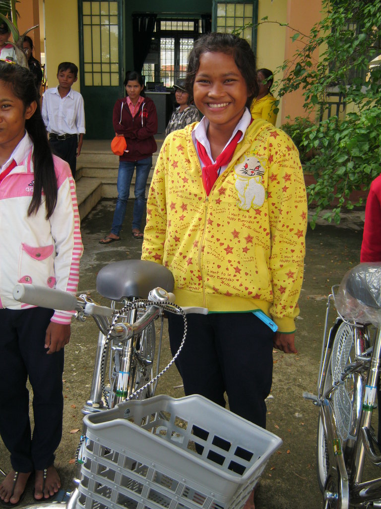 100 Bikes for 100 Girls