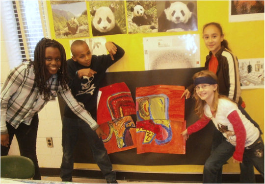 Enriching At-Risk Students' Lives with Art in MD