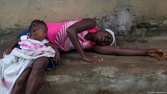 Sick mother, worried baby :(