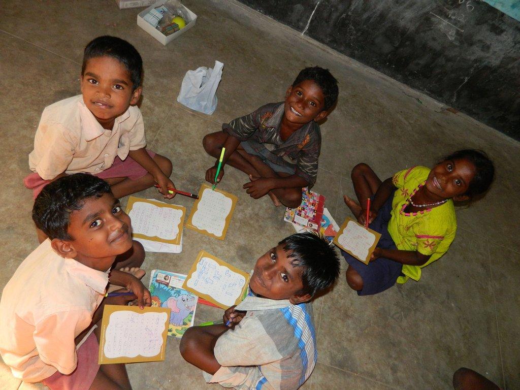 Educate 540 children in rural Tamil Nadu