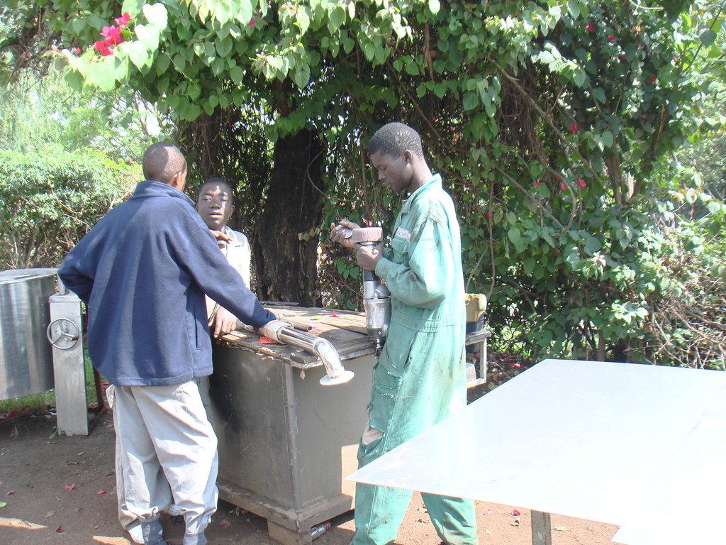 LIFE SKILLS TO 20 ORPHANED YOUTHS FROM ZIWANI SLUM